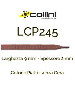 Lacci in cotone piatto art. LCP245 alla grossa = 72 paia