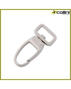 Spring hook with Rectangular Ring 15 mm wide D/0249