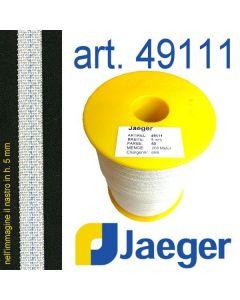 Nastro autoadesivo forte per rinforzo cinturini art. JAEGER 49111