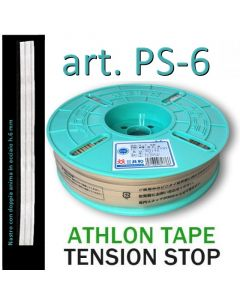 TENSION STOP PS-6 Adhesive Tape h.6 mm with double flexible steel core