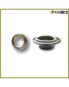 Occhielli + Ranelle 9,8 mm in Inox Vela 40