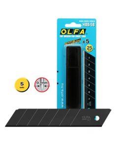 Lame OLFA ® HBB-5B (conf. 5 lame)