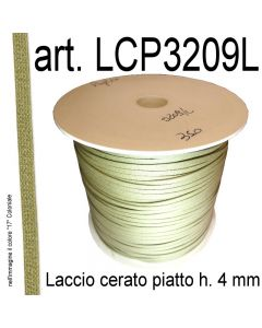 Piattina in cotone cerato h. 4 mm art. LCP3209L