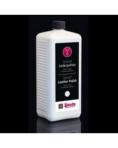 la bottiglia da 1 litro di liquido polish lucidante per dispenser macchine lucidascarpe