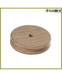 Pressore tondo in legno ø 50 mm - pista singola h. 3 mm