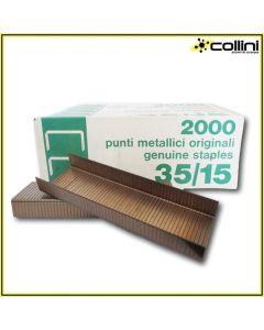 Punti metallici compatibili con graffettatrice LOCK STAPLER (2000 pezzi)