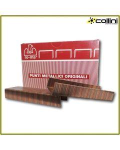 Punti Metallici Ro-ma Blu Line 35/19 (scatola 2.000 pezzi)