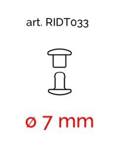 Rivetti Doppia Testa in ferro art. 033 (ø 7 mm)