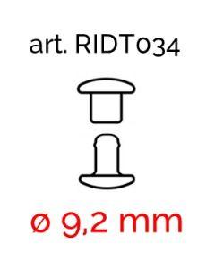 Rivetti Doppia Testa in ferro art. 034 (ø 9,2 mm)