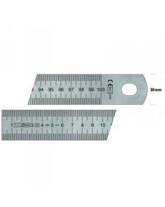 immagine esemplificativa della riga flessibile in acciaio (lunghezza cm 100)