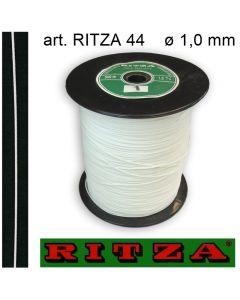 Cordino poliestere con lubrificazione siliconica ø 1,0 mm art. RITZA 44 (rocchetto da 500 metri)