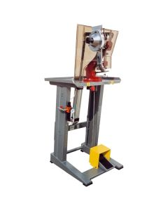 Riveter machine with pedal