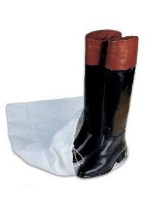 Sacchetto in flanella bianco per Stivali