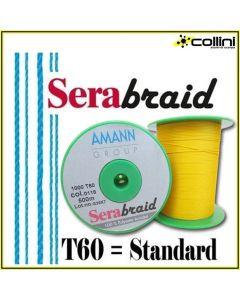 SERABRAID T60 - Filo intrecciato 100% poliestere STANDARD (non cerato)