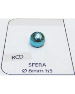 ø 6 mm Spherical ABS Studs - 5 mm high (1000 pieces package)