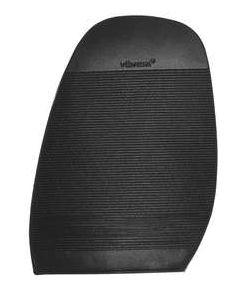 Mezza suola da DONNA in gomma compatta da 2,2 mm disegno millerighe
