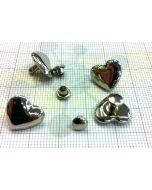 Guarnizioni con rivetto cuore art. C/6188 (confezione da 50 pezzi)