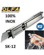 Cutter Safety OLFA ® SK-12 INOX