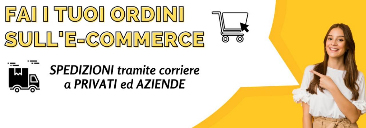 Ordina sull'e-commerce. Vendiamo ad aziende e privati