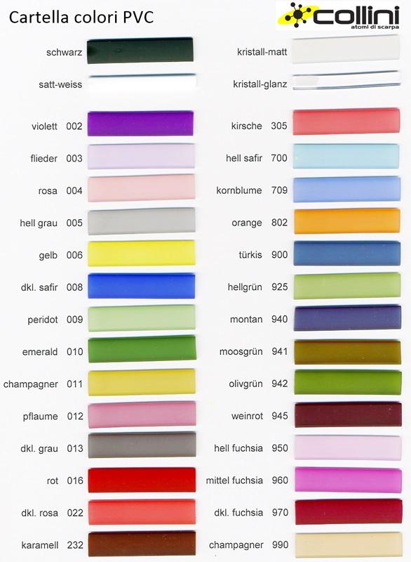 PVC - Cartella colori