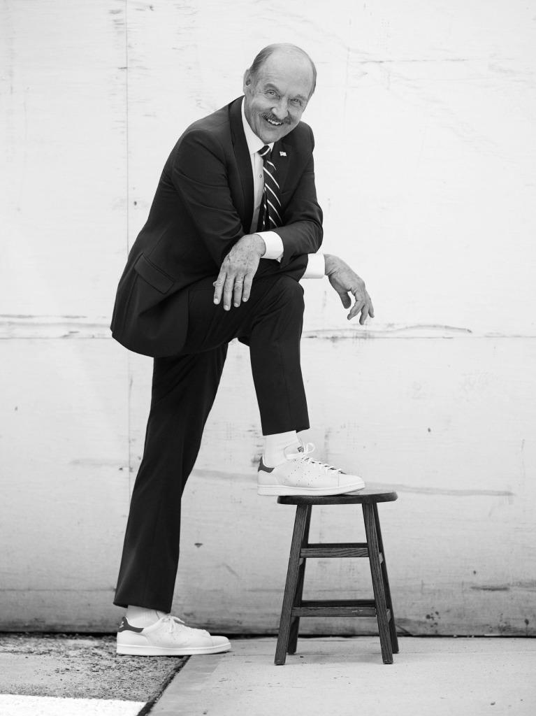 """""""Sono un giocatore di tennis, ma un sacco di persone pensano che io sia una scarpa."""" – Stan Smith"""