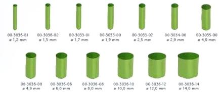 PVC rotondo - diametri disponibili